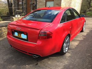 2003 53 C5 RS6 Saloon Misano Red 52k Miles For Sale