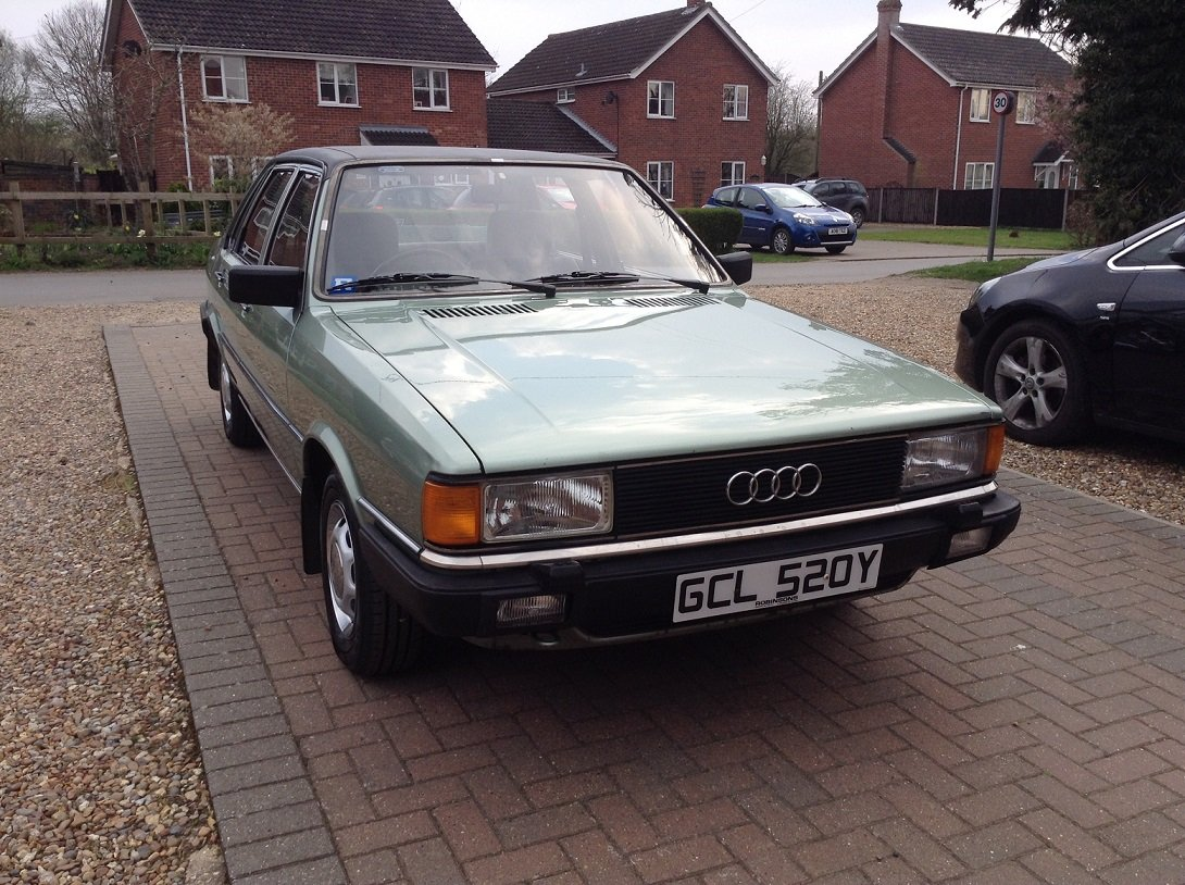 1983 Audi 80 GL, 66,000 miles, Very Original SOLD (picture 1 of 6)