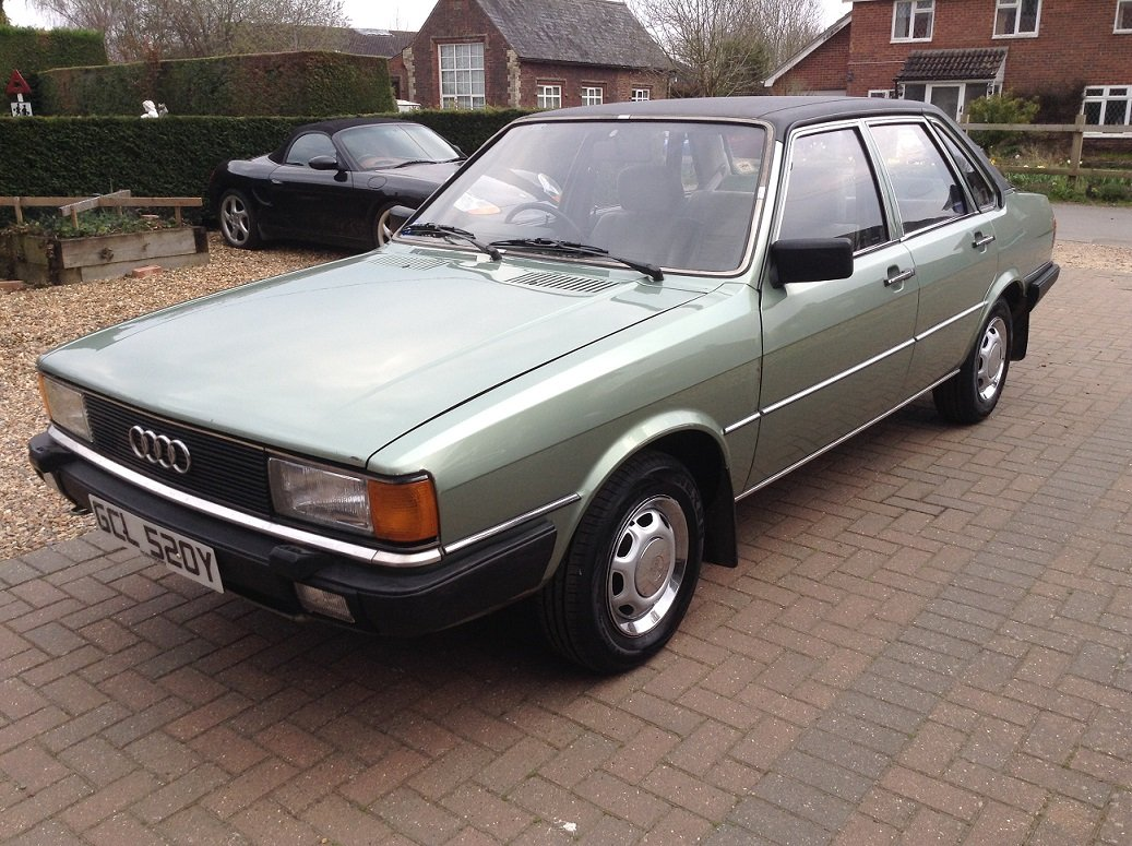 1983 Audi 80 GL, 66,000 miles, Very Original SOLD (picture 2 of 6)