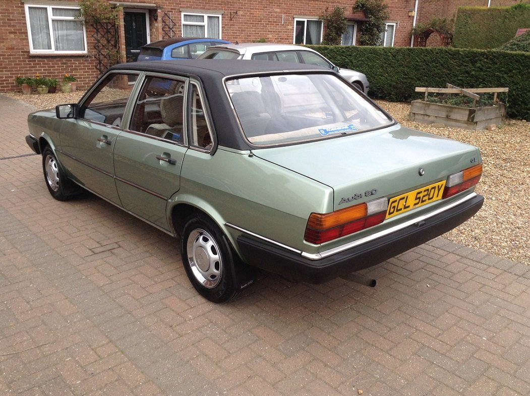 1983 Audi 80 GL, 66,000 miles, Very Original SOLD (picture 3 of 6)