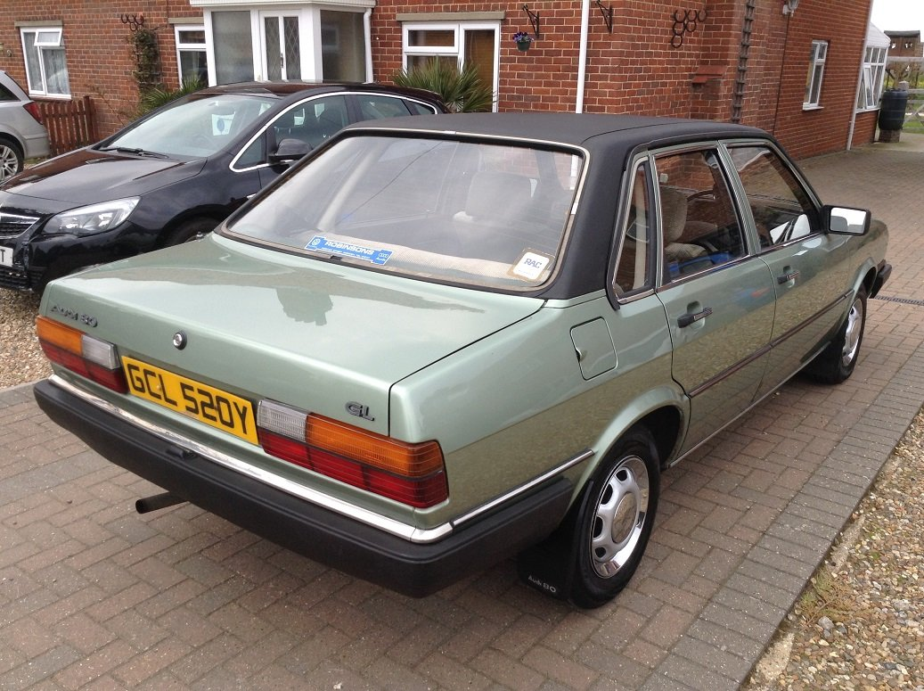 1983 Audi 80 GL, 66,000 miles, Very Original SOLD (picture 4 of 6)
