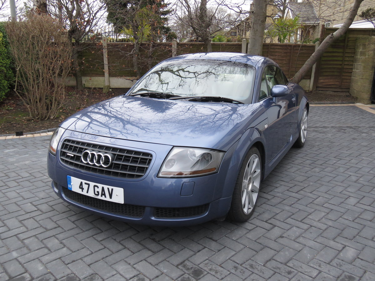 2003 AUDI TT QUATTRO COUPLE 225bhp with CRUISE CONTROL SOLD (picture 1 of 6)