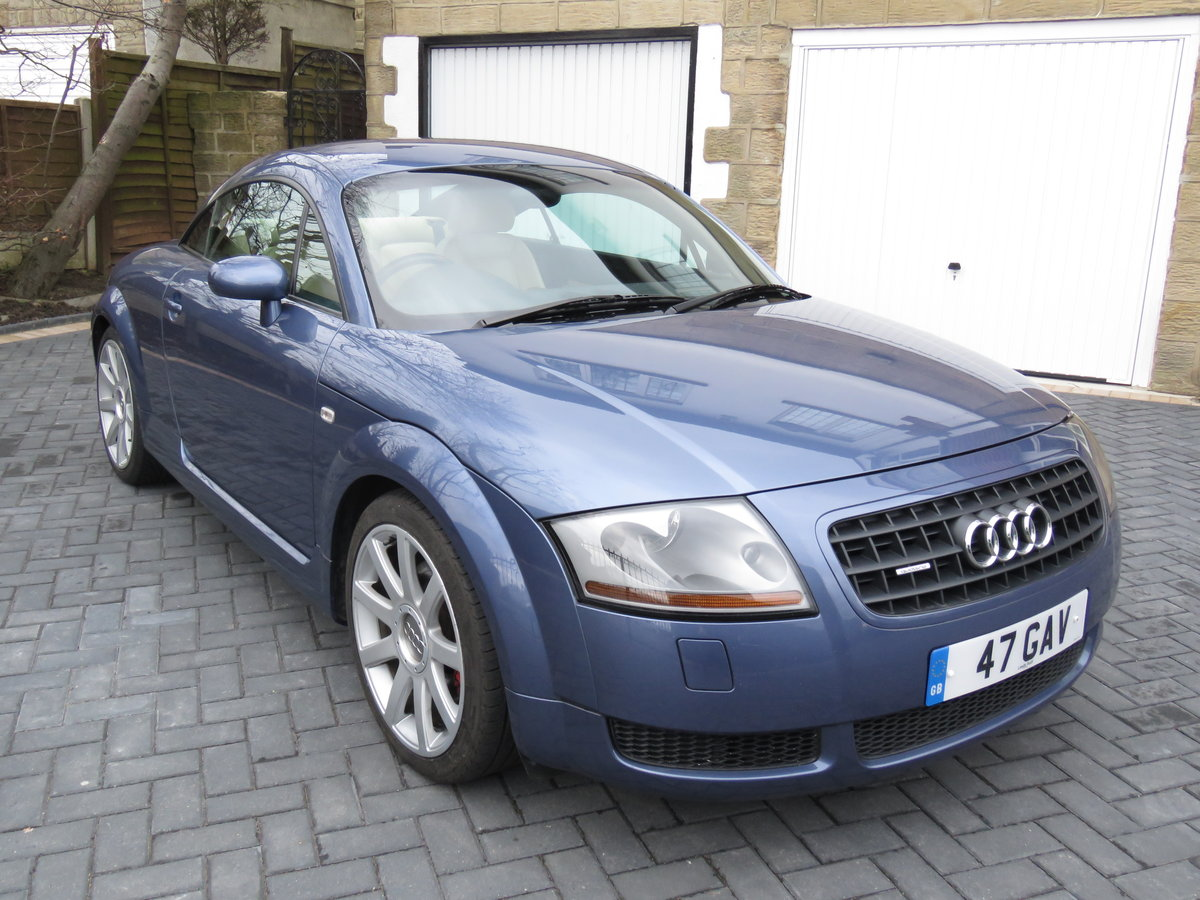 2003 AUDI TT QUATTRO COUPLE 225bhp with CRUISE CONTROL SOLD (picture 2 of 6)
