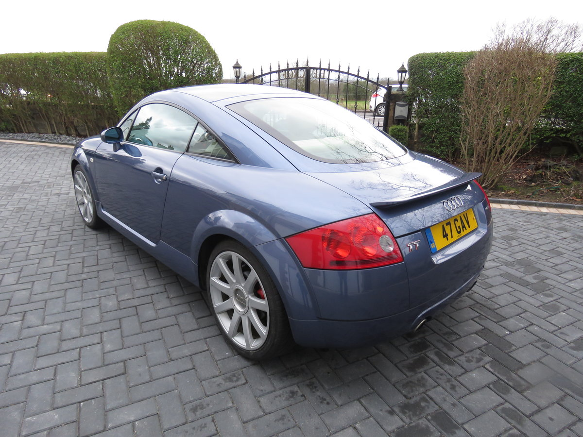 2003 AUDI TT QUATTRO COUPLE 225bhp with CRUISE CONTROL SOLD (picture 6 of 6)