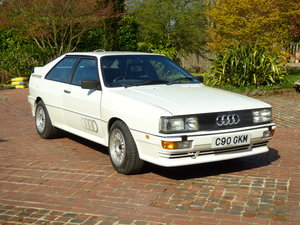 1986 TOTALLY MINT AUDI UR QUATTRO LOW MILES  For Sale