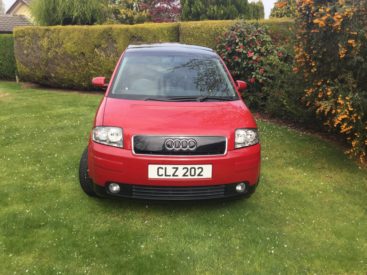 2004 Audi A2 1.6 FSI Sport - lady owner, pan roof For Sale (picture 1 of 6)
