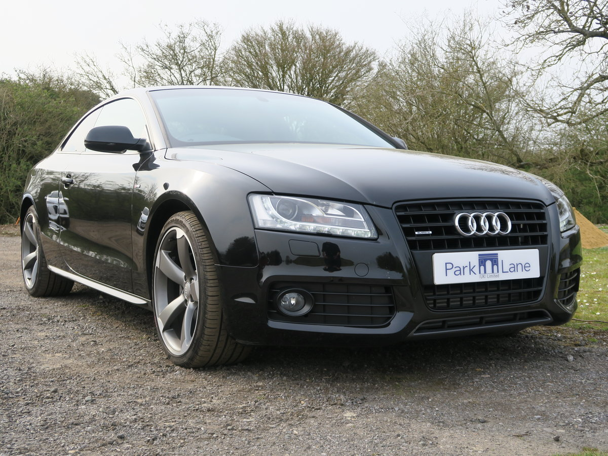 2011 Audi A5 Coupe TFSI Quattro Black Edition 4,650 Miles SOLD (picture 1 of 6)