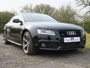 2011 Audi A5 Coupe TFSI Quattro Black Edition 4,650 Miles SOLD