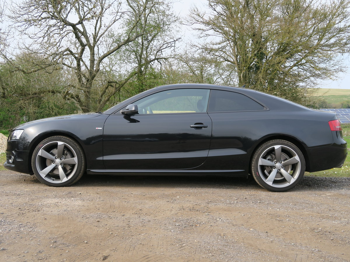 2011 Audi A5 Coupe TFSI Quattro Black Edition 4,650 Miles SOLD (picture 2 of 6)