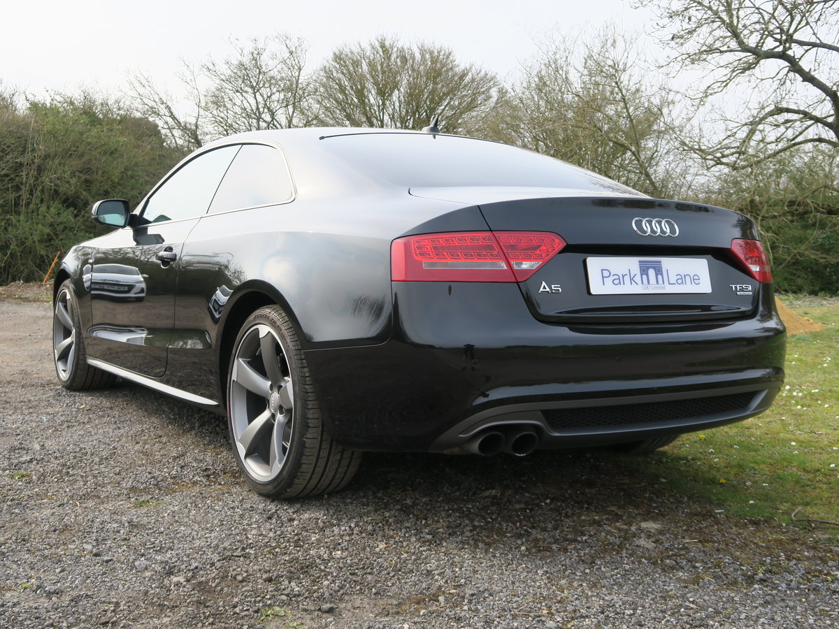 2011 Audi A5 Coupe TFSI Quattro Black Edition 4,650 Miles SOLD (picture 3 of 6)