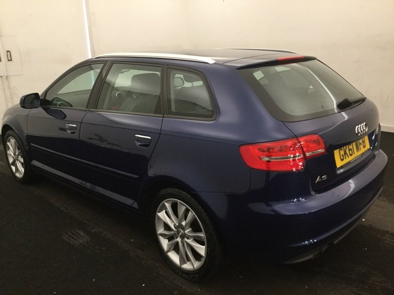 2011/61 Audi A3 1.8TFSi Sport S Tronic 5dr 68391 miles FSH For Sale (picture 2 of 6)