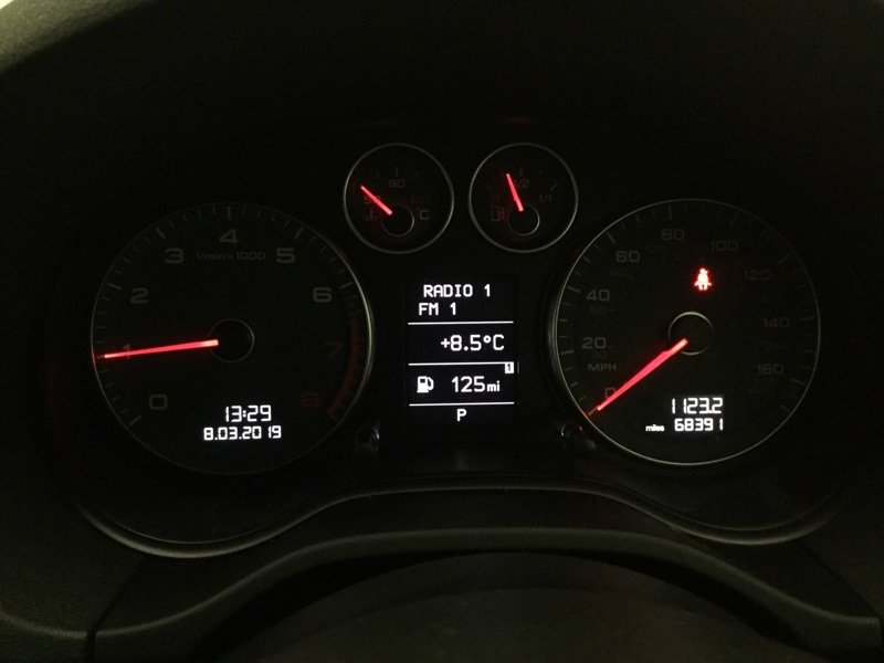 2011/61 Audi A3 1.8TFSi Sport S Tronic 5dr 68391 miles FSH For Sale (picture 5 of 6)