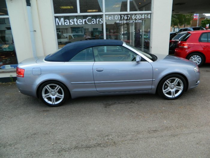 2008/58 Audi A4 Cab 3.0TDi T/tronic Sport Quattro 62481mls For Sale (picture 2 of 6)