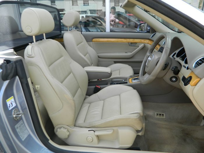 2008/58 Audi A4 Cab 3.0TDi T/tronic Sport Quattro 62481mls For Sale (picture 3 of 6)