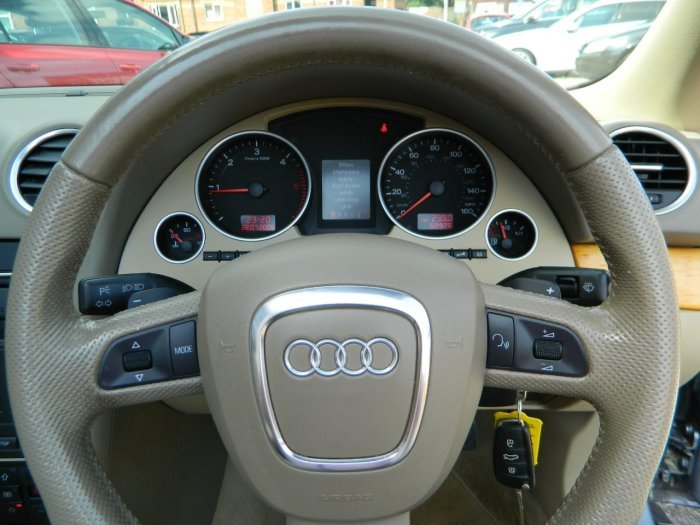 2008/58 Audi A4 Cab 3.0TDi T/tronic Sport Quattro 62481mls For Sale (picture 4 of 6)