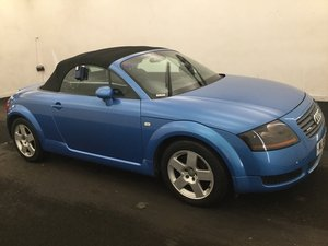 2001/51 Audi TT 1.8T Roadster Conv Quattro 51981 mls FSH For Sale