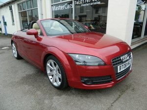 2008/08 Audi TT 2.0T FSi Exclusive Line Conv 58956 miles FSH For Sale
