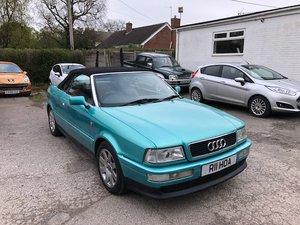1997 Lovely Audi Cabriolet V6 2.5 For Sale