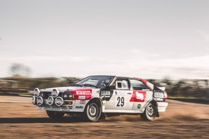 1981 Audi Quattro - Rally Prepared and Racing History For Sale