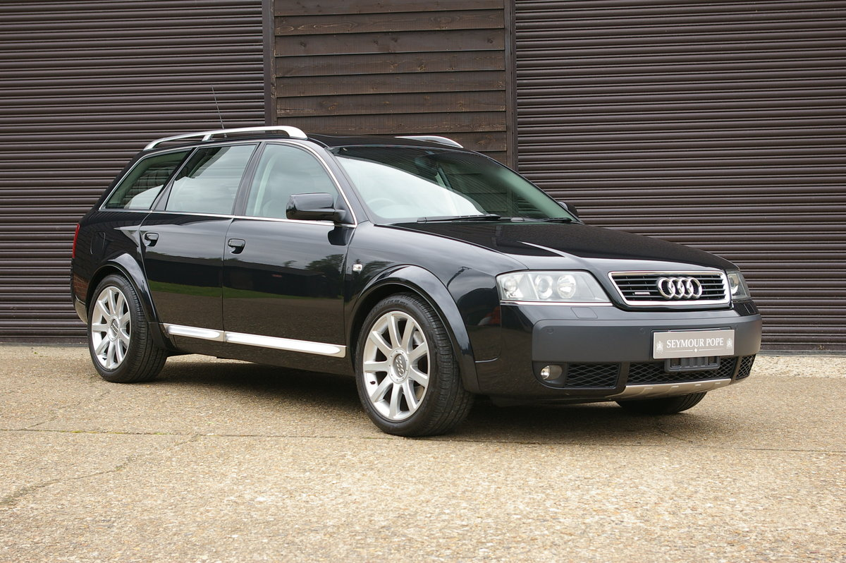 2005 Audi C5 AllRoad 4.2 V8 Quattro Auto Estate (18,703 miles) SOLD (picture 1 of 6)