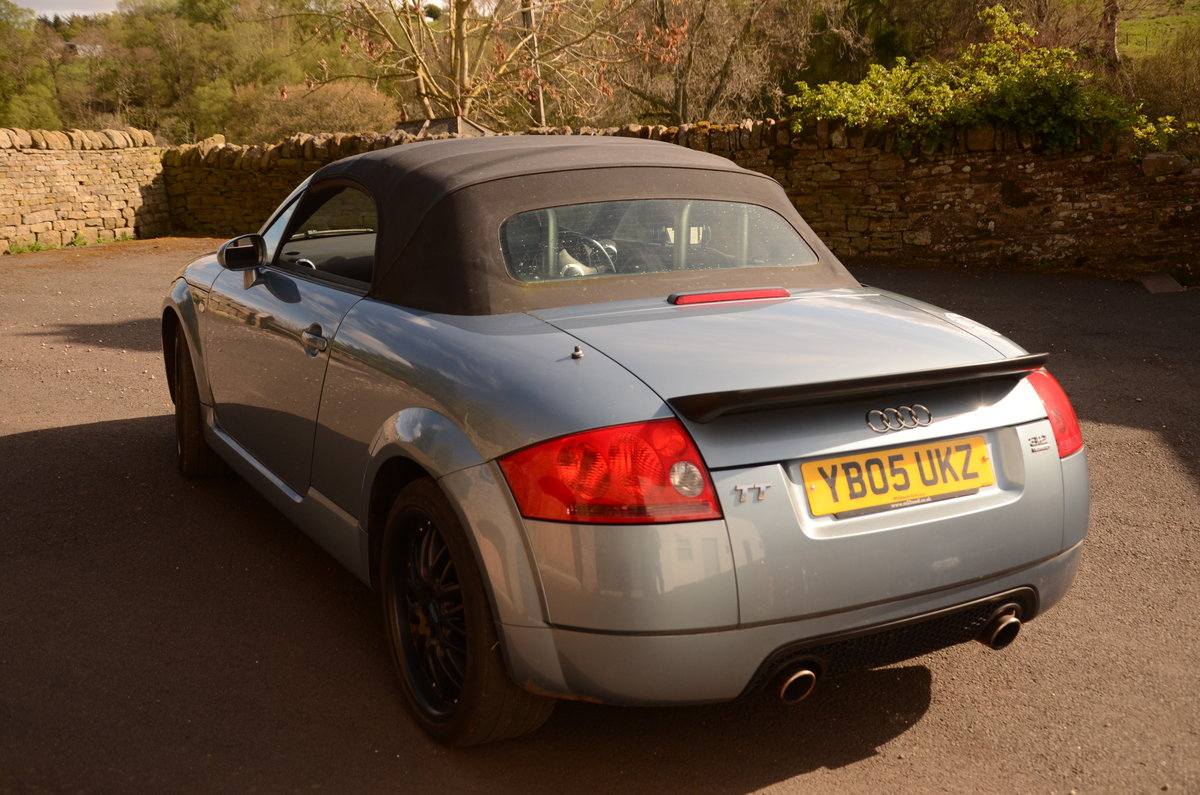 2005 Audi TT V6 Quattro Convertible For Sale (picture 1 of 6)