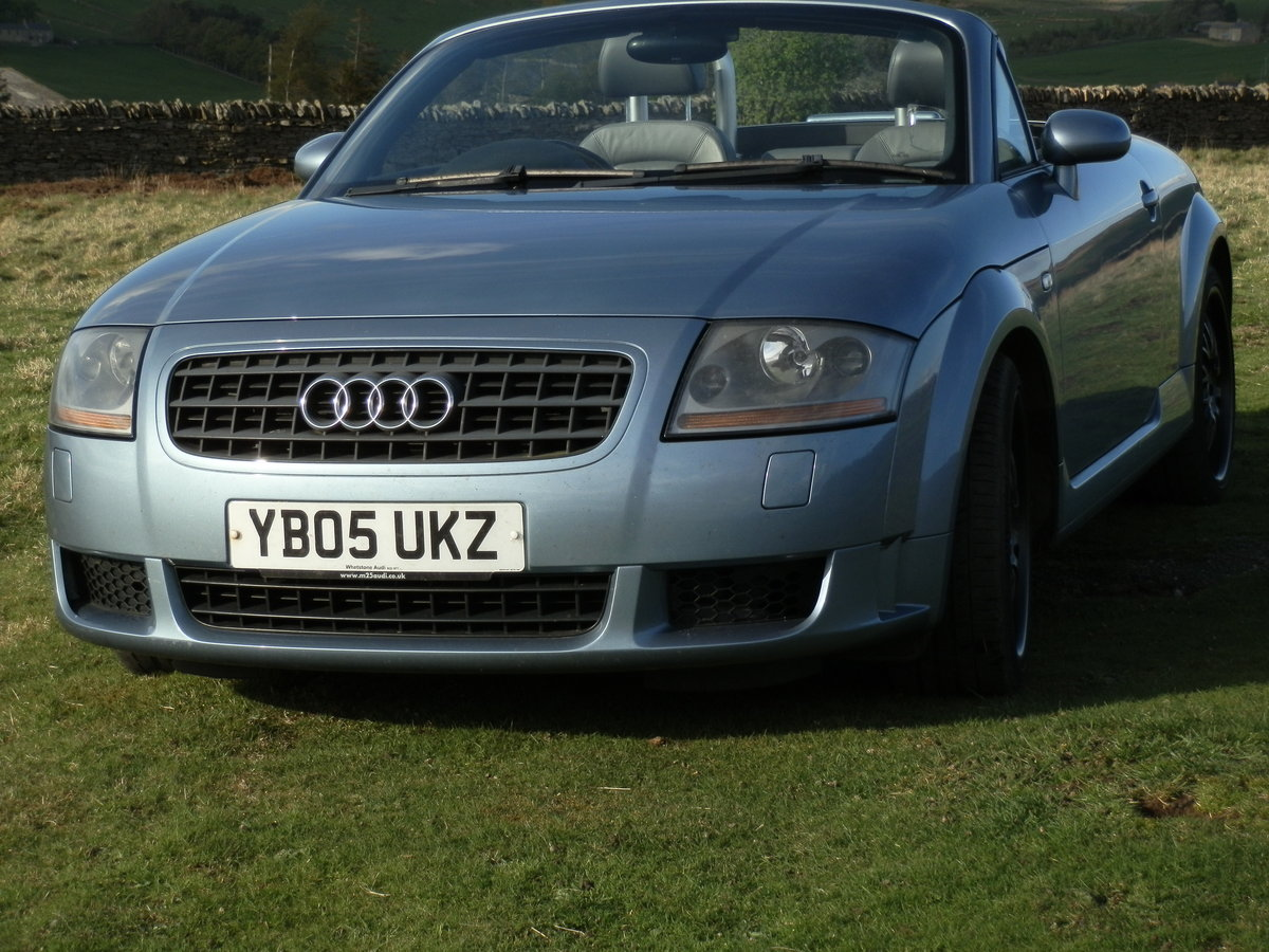 2005 Audi TT V6 Quattro Convertible For Sale (picture 2 of 6)