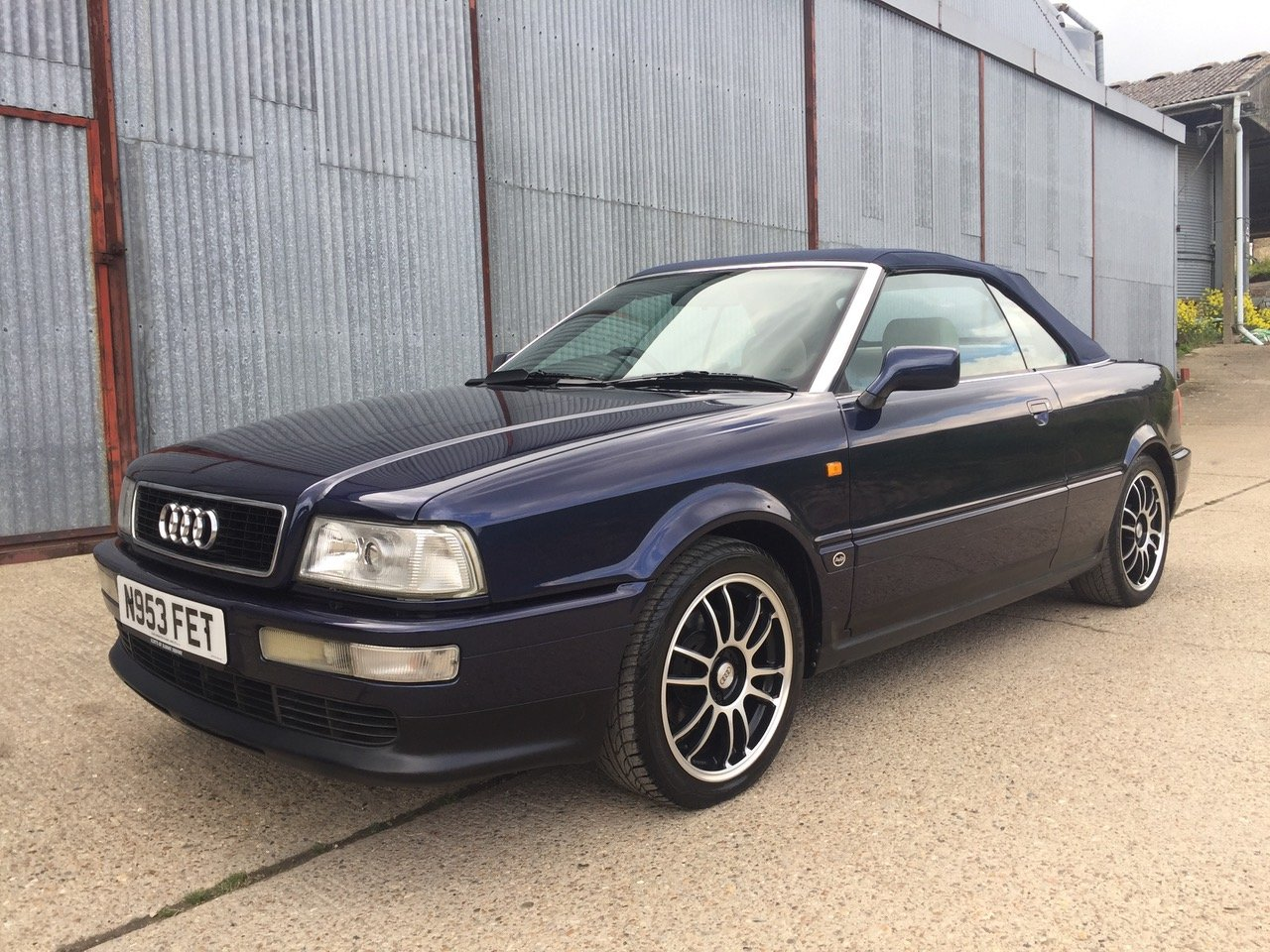 Superb 1996 Audi 80 Cabriolet 2.6 V6 Auto For Sale (picture 1 of 6)