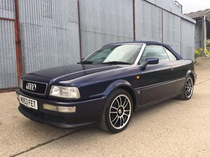 Superb 1996 Audi 80 Cabriolet 2.6 V6 Auto For Sale