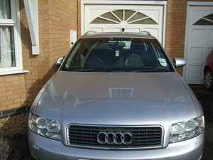 Audi A4 Avant 2002 - Trailer away only