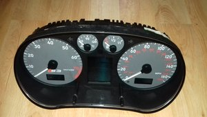 Audi coupe s2  rear bumper / Audi S3 clock  For Sale