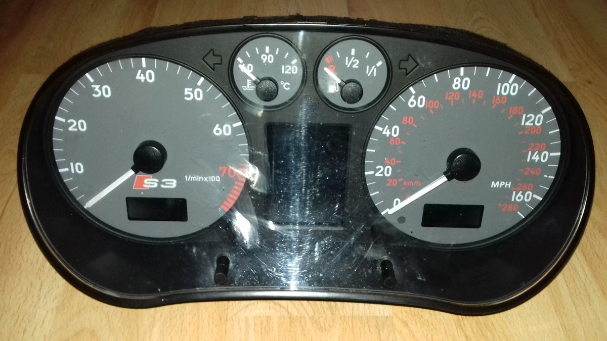 Audi coupe s2  rear bumper / Audi S3 clock  For Sale (picture 6 of 6)