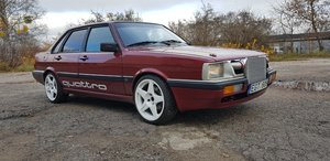 1985 Audi 90 Quattro b2 2.2 20v turbo LHD For Sale