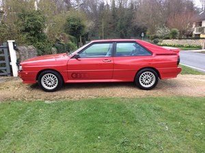 1988 Audi ur quattro turbo