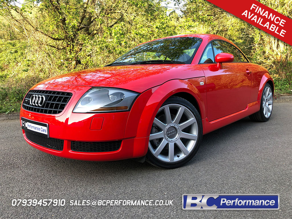 2003 Audi TT 225 quattro Misano red immaculate car 49k For Sale (picture 1 of 6)