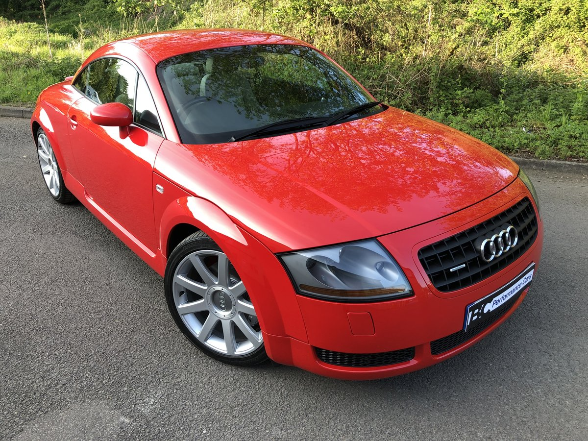 2003 Audi TT 225 quattro Misano red immaculate car 49k For Sale (picture 2 of 6)