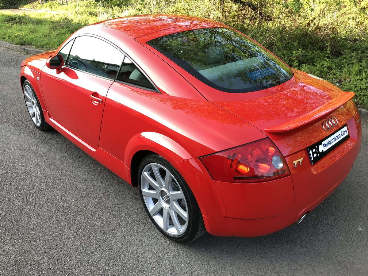 2003 Audi TT 225 quattro Misano red immaculate car 49k For Sale (picture 4 of 6)