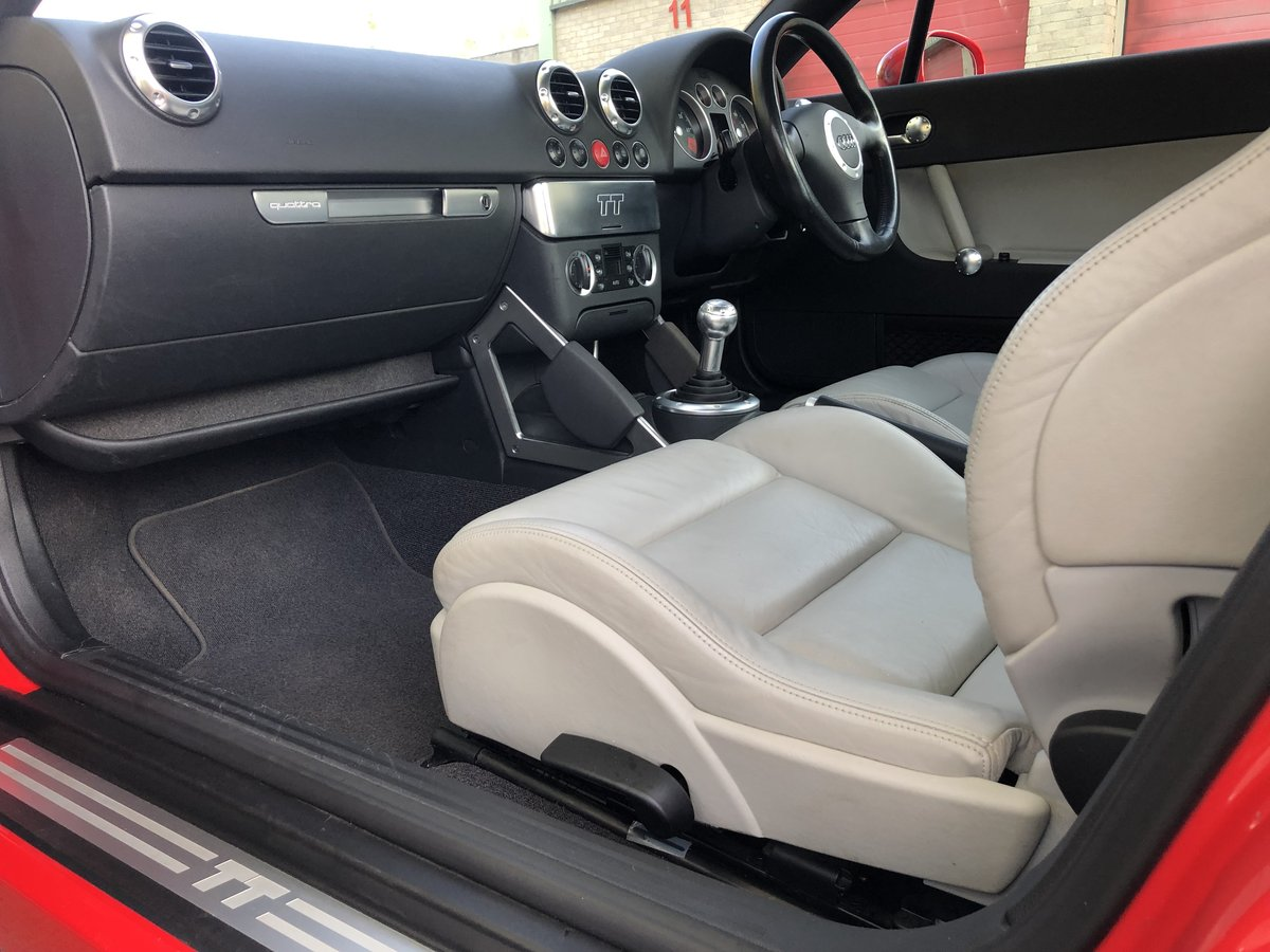 2003 Audi TT 225 quattro Misano red immaculate car 49k For Sale (picture 6 of 6)