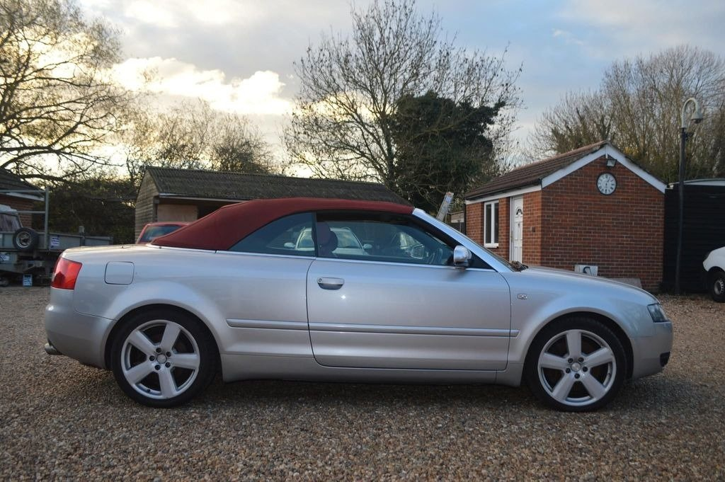 2004 AUDI S4 cabriolet auto  For Sale (picture 1 of 6)