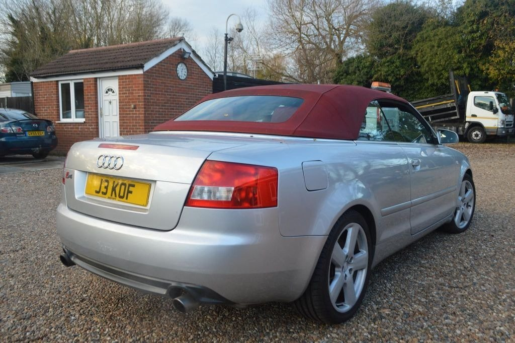 2004 AUDI S4 cabriolet auto  For Sale (picture 2 of 6)