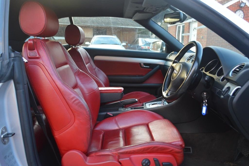 2004 AUDI S4 cabriolet auto  For Sale (picture 5 of 6)