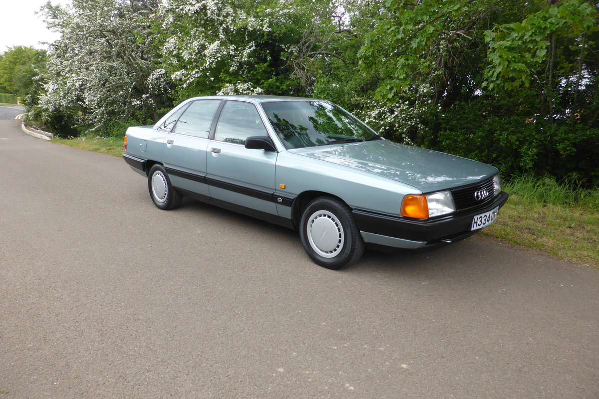1990 Audi 100 C3 2.3 litre 5-speed manual SOLD (picture 3 of 5)
