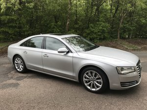 2010 Audi A8 SE Executive. 4.2TDI Quattro SOLD