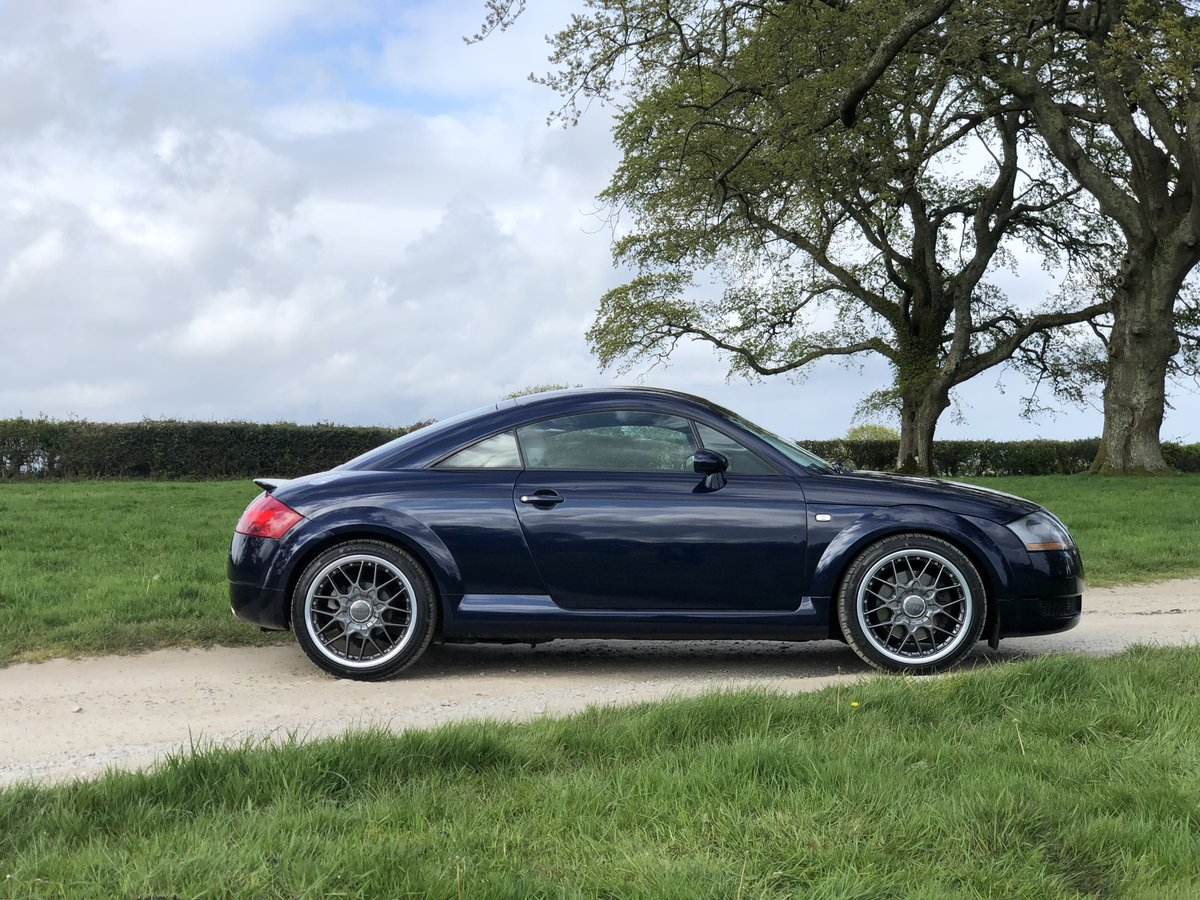 2003 AUDI TT 225 QUATTRO COUPE MING BLUE STUNNING For Sale   Car And Classic
