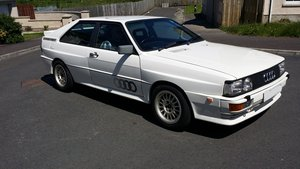 1987 Low Mileage - Audi UR Quattro For Sale