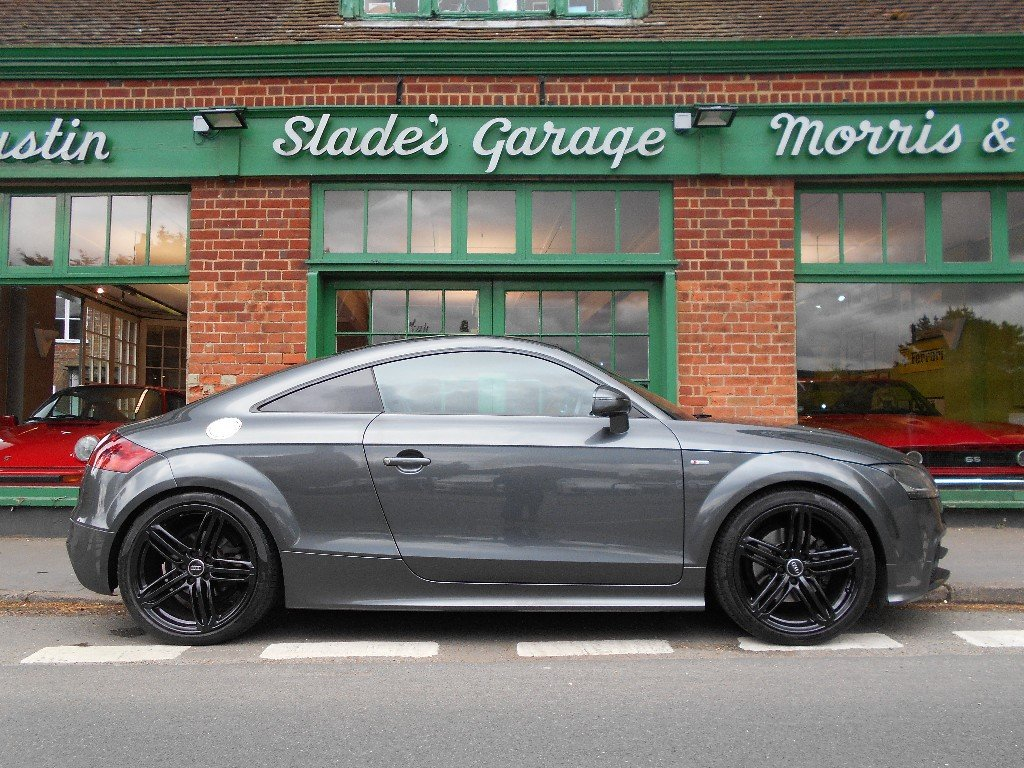 2014 Audi TT Black Edition  SOLD (picture 1 of 4)