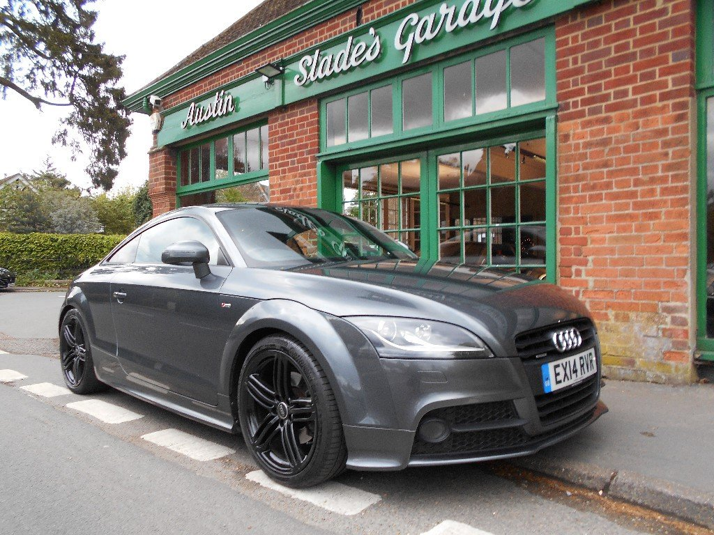 2014 Audi TT Black Edition  SOLD (picture 2 of 4)