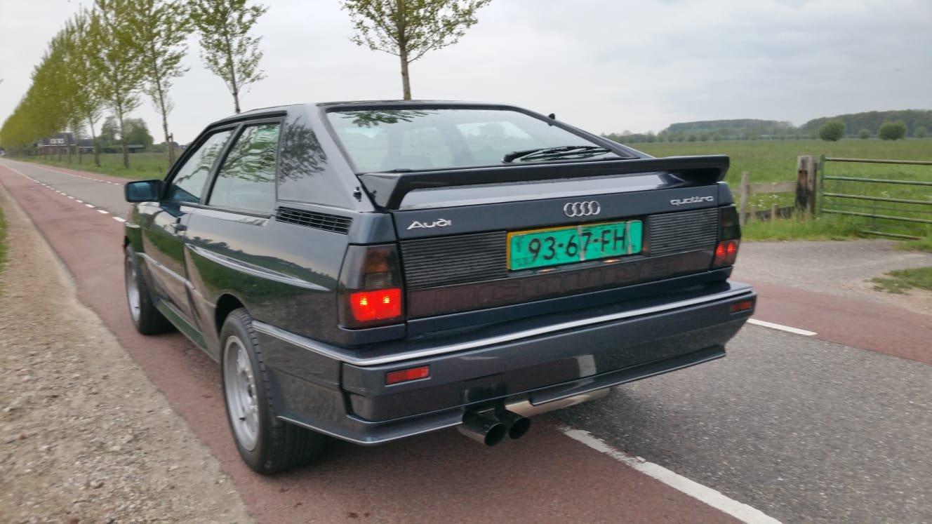 1989 Audi Ur Quattro 2.1 Turbo MB motor For Sale (picture 2 of 6)