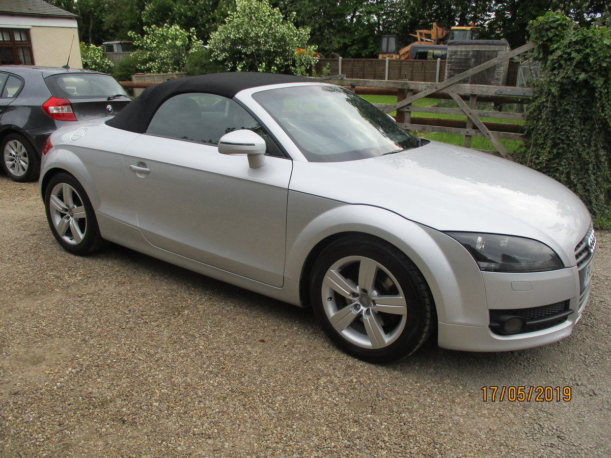 SMART TT 2007 REG O7 PLATE GOS GREAT POWERED HOOD LEATHER   For Sale (picture 1 of 6)