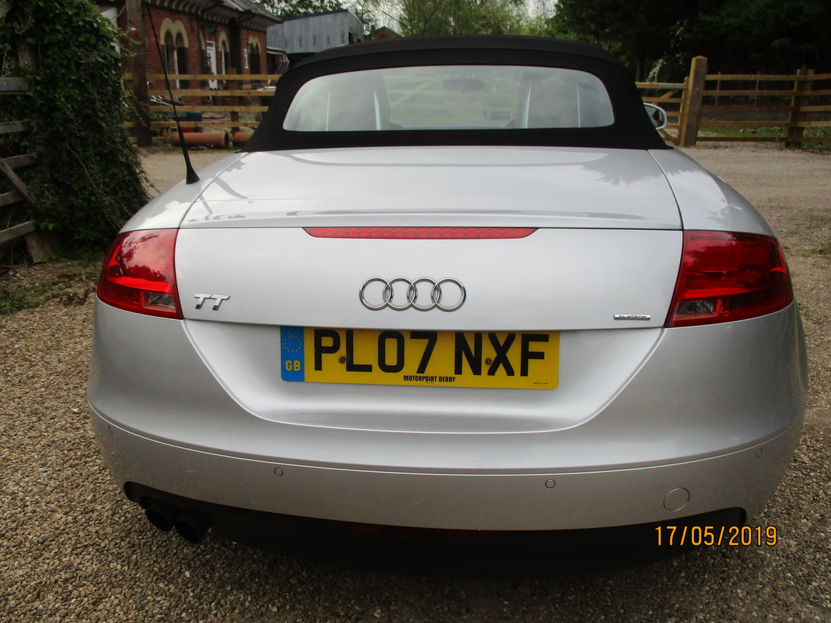 SMART TT 2007 REG O7 PLATE GOS GREAT POWERED HOOD LEATHER   For Sale (picture 3 of 6)