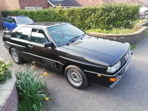 Rare  RR 20v ur quattro turbo panther Black 1990 For Sale